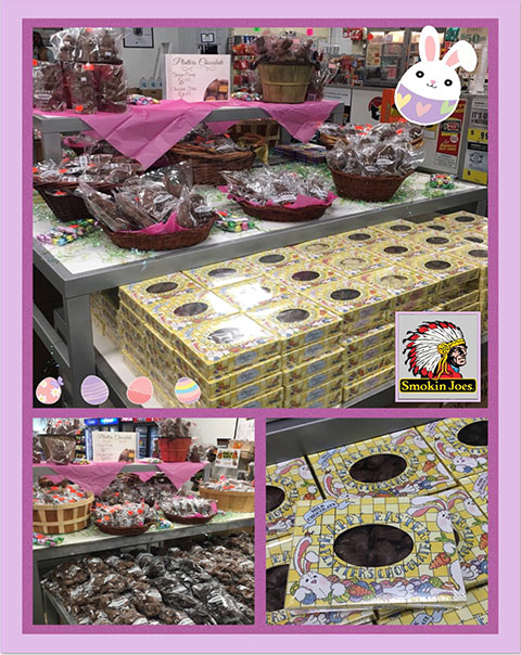 Platter's Easter Chocolates Are Here! Hop on Over….