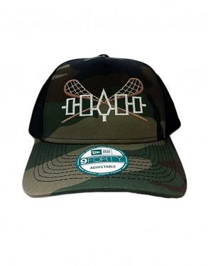 Hall of Fame Lax Shaxx Cross Stick Mesh Hat