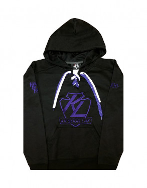 Kilgour Lax - Lace Up Hoodie