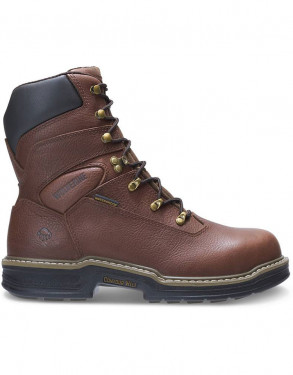 "MEN'S BUCCANEER STEEL-TOE EH WATERPROOF 8"" WORK BOOT"
